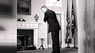 El expresidente Bill Clinton, fotografiado en la Casa Blanca por Martin Schoeller en el año 2000.