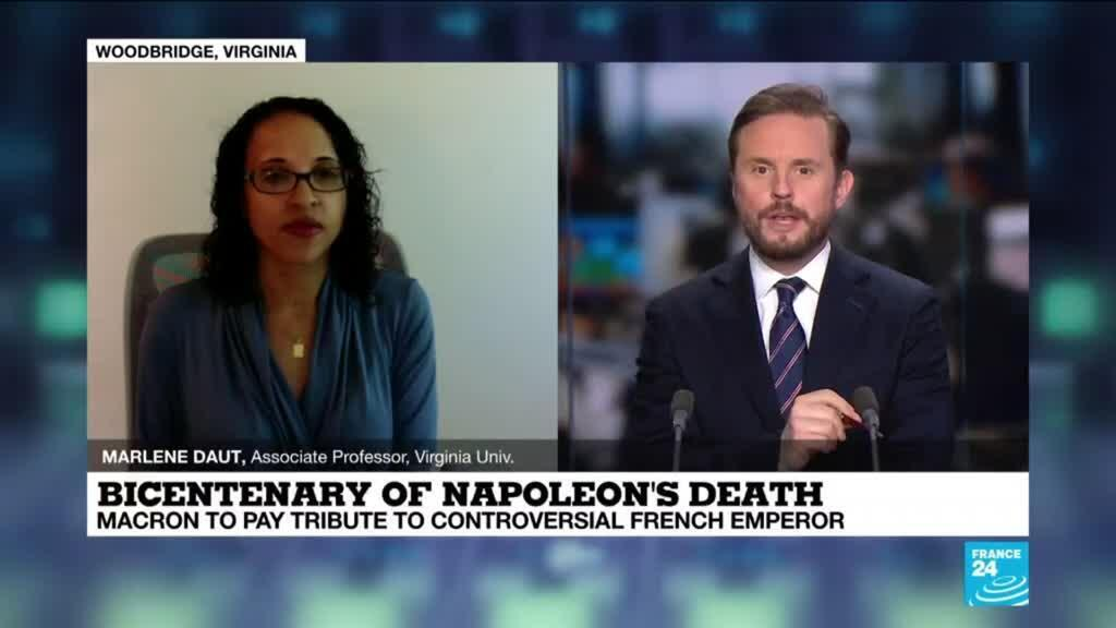 """2021-05-05 15:08 Bicentenary of Napoleon's death: """"It's strange to commemorate someone who committed crimes against humanity"""""""