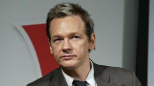 Cette photo a été prise à Stockholm en 2010, à l'époque où Julian Assange est accusé d'avoir agressé sexuellement deux femmes.