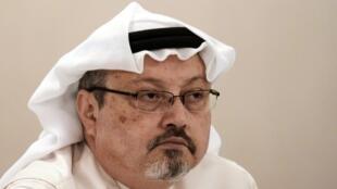 Imagen de archivo del periodista saudita Jamal Khashoggi tomada el 15 de diciembre de 2014.