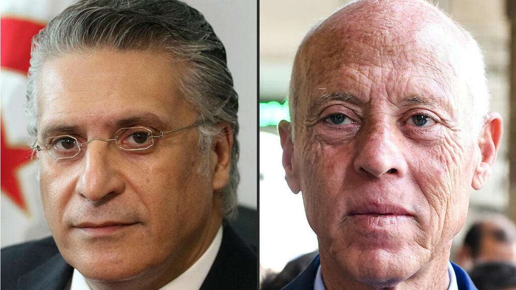Kais Saied and Nabil Karoui head to run-off in Tunisian presidential election