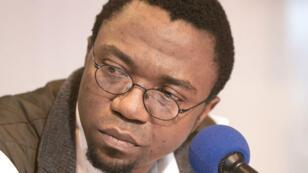 Patrice Nganang, écrivain et universitaire camerounais, résidant aux États-Unis.