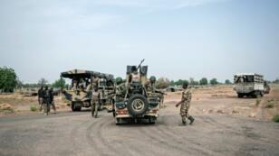 عناصر من الجيش النيجيري