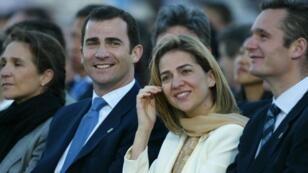 كريستينا دي بوربون شقيقة ملك إسبانيا