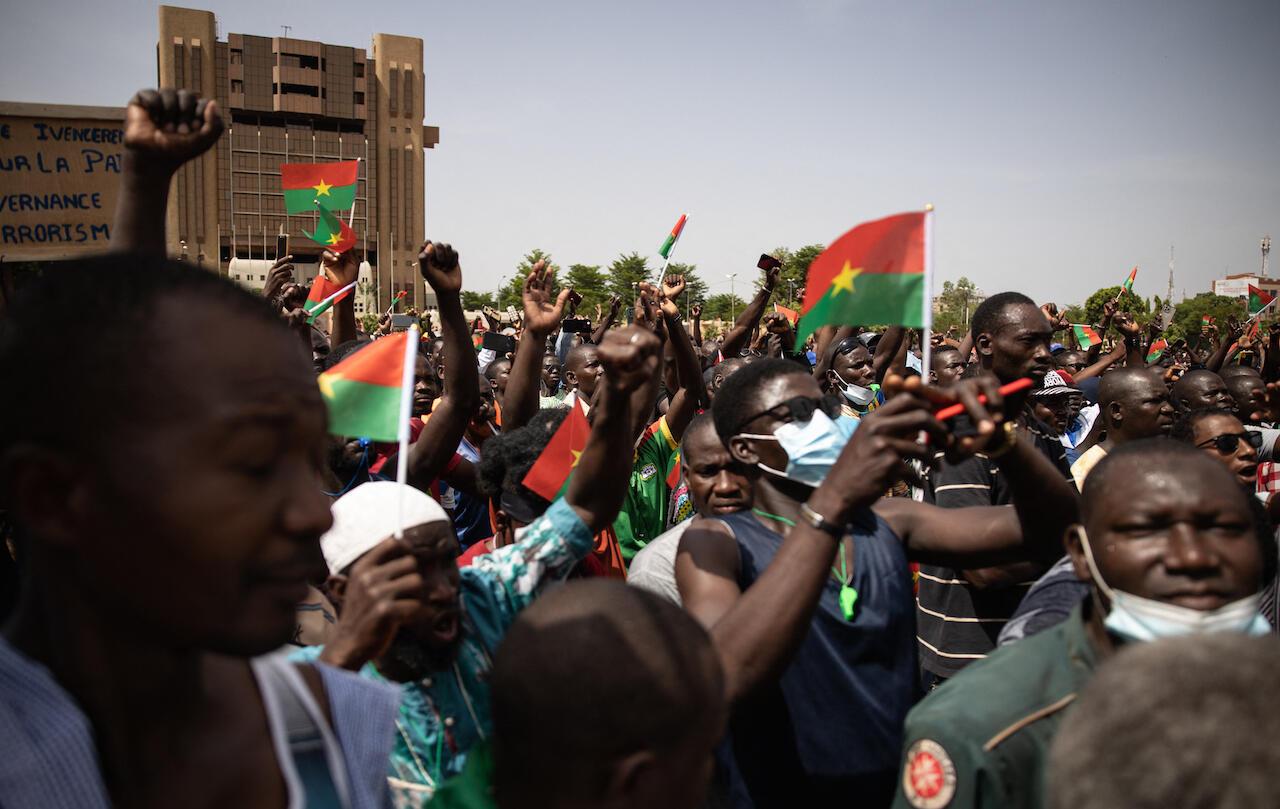 Burkina-protest