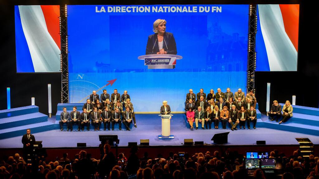 Les adhérents du FN vont être appelés à valider ou non le changement de nom du parti dans les semaines à venir.