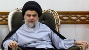 Le leader chiite nationaliste Moqtada al-Sadr a remporté les élections législatives irakiennes en mai 2018.