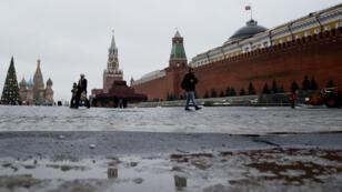 Le Kremlin, sur la Place Rouge de Moscou.