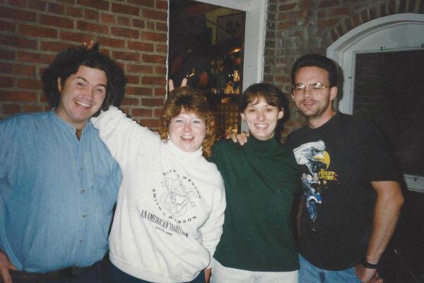Rockwell Patterson, Meaghan Patterson Carter, Mindi Patterson et son frère en Ohio.