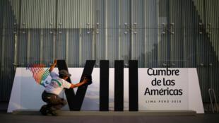 Con mucha expectativa los peruanos se alistan para la VIII Cumbre de las Américas. Abril 10 de 2018.