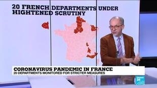 2021-02-26 11:08 Coronavirus pandemic: France may impose further regional lockdowns in worst-hit areas