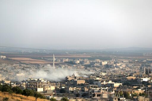 قوات النظام تدخل مدينة خان شيخون في شمال غرب سوريا