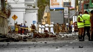 The sons of a wealthy Colombo spice trader were among suicide bombers who hit three churches and three luxury hotels, according to investigators