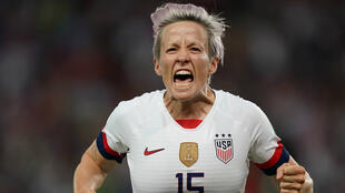 L'attaquante Megan Rapinoe, lors du match contre la France, le 28 juin, à Paris.