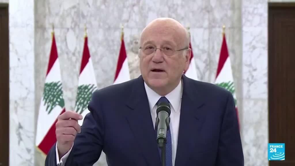 2021-09-10 19:01 Líderes libaneses forman gobierno tras 13 meses de estancamiento