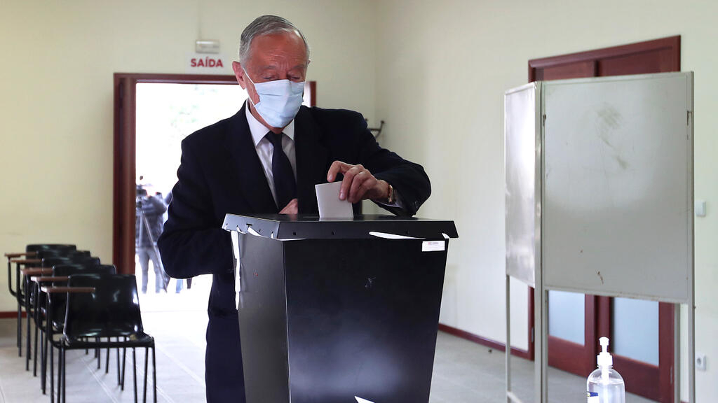Exit polls suggest Portugal's president Rebelo de Sousa has won re-election