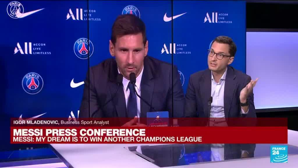 2021-08-11 11:30 Football: 'Lionel Messi 'extremely happy' after joining PSG
