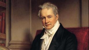 Retrato de Alexander von Humboldt, 1843.