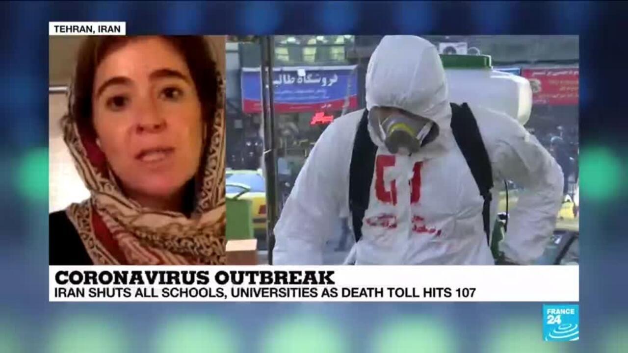 Coronavirus outbreak: Iran's health minister declares National mobilisation  plan - France 24