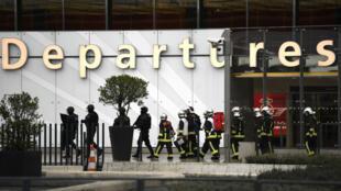 عملية أمنية في مطار أورلي بباريس 18 آذار 2017