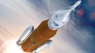 Le Space Launch System de Boeing.