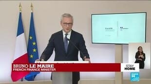 2020-05-07 16:52 France's government unveils economy details as country eases coronavirus lockdown measures
