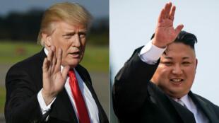 """À Da Nang au Vietnam, vendredi, Donald Trump a dénoncé les """"fantasmes"""" du """"dictateur"""" de Pyongyang."""