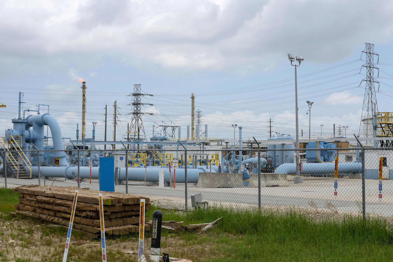 Un site de l'opérateur d'oléoducs américain Colonial Pipeline à Pasadena, au Texas, le 10 mai 2021.