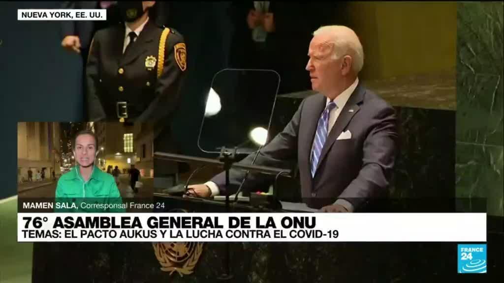 2021-09-22 02:03 Informe desde Nueva York: AUKUS y Covid-19, temas centrales en la Asamblea General de la ONU
