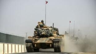 آلية عسكرية للقوات التركية