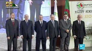Algerian presidential candidates launch election campaign ahead of December polls.