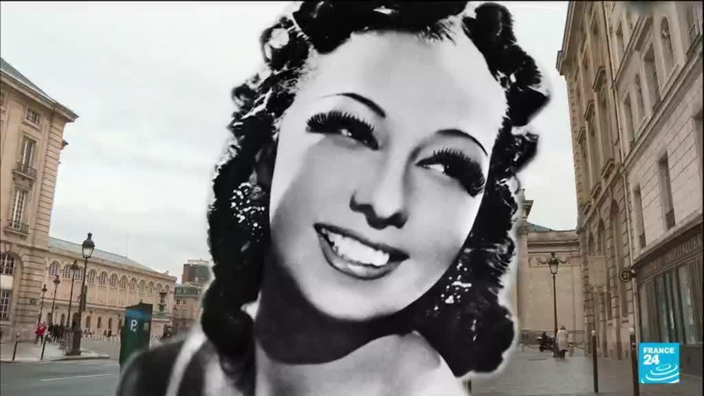 2021-08-23 13:21 Musical legend Josephine Baker first black woman to enter France's Pantheon