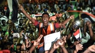 Thousands of protesters have been gathered outside army headquarters in Khartoum throughout the talks with Sudan's ruling generals on a political transition