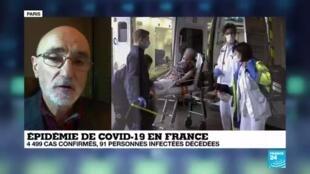 2020-03-15 22:13 Coronavirus en France : 127 morts et 5423 cas détectés