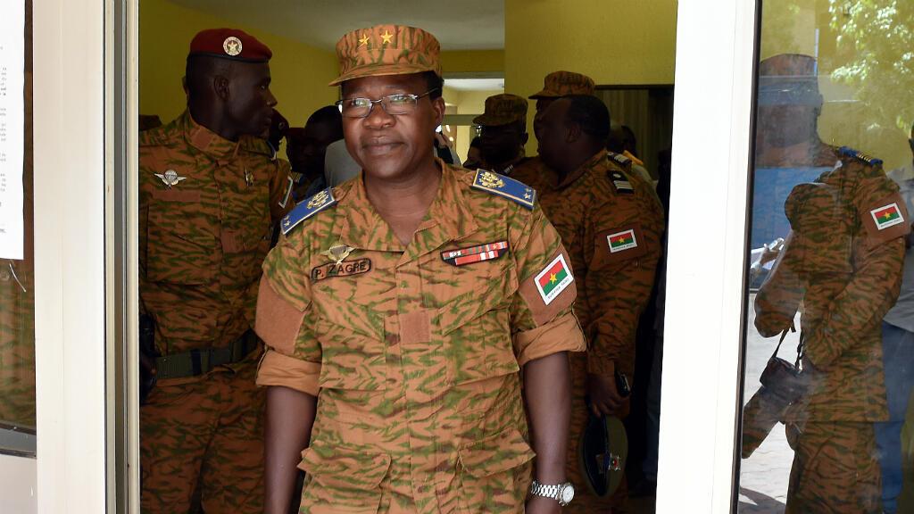 Le chef d'état-major des armées du Burkina Faso, le général Pingrenoma Zagre, en 2014 à Ouagadougou.