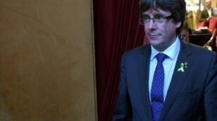 مصدر حكومي إسباني يؤكد أن الرئيس الاستقلالي لكاتالونيا كارلس بيغديمونت متواجد في بروكسل الاثنين 30 تشرين الأول/أكتوبر 2017