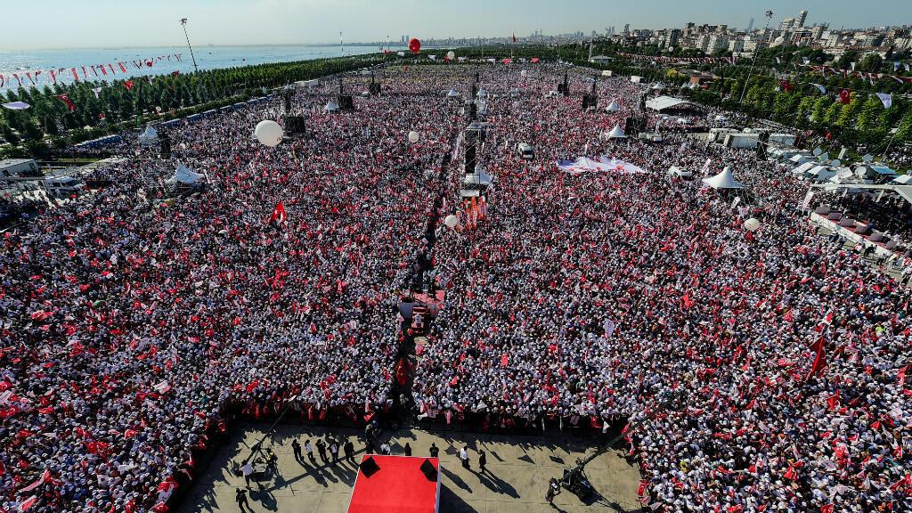"""تجمع """"المسيرة من أجل العدالة"""" في إسطنبول الأحد 10 تموز/يوليو."""