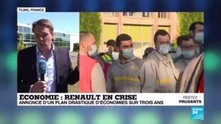 2020-05-29 13:01 En crise, Renault annonce un plan d'économies drastique sur trois ans