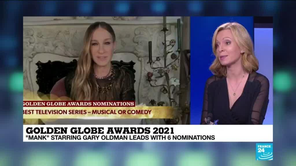 2021-02-03 16:12 Netflix's 'Mank' tops Golden Globes nominations with six