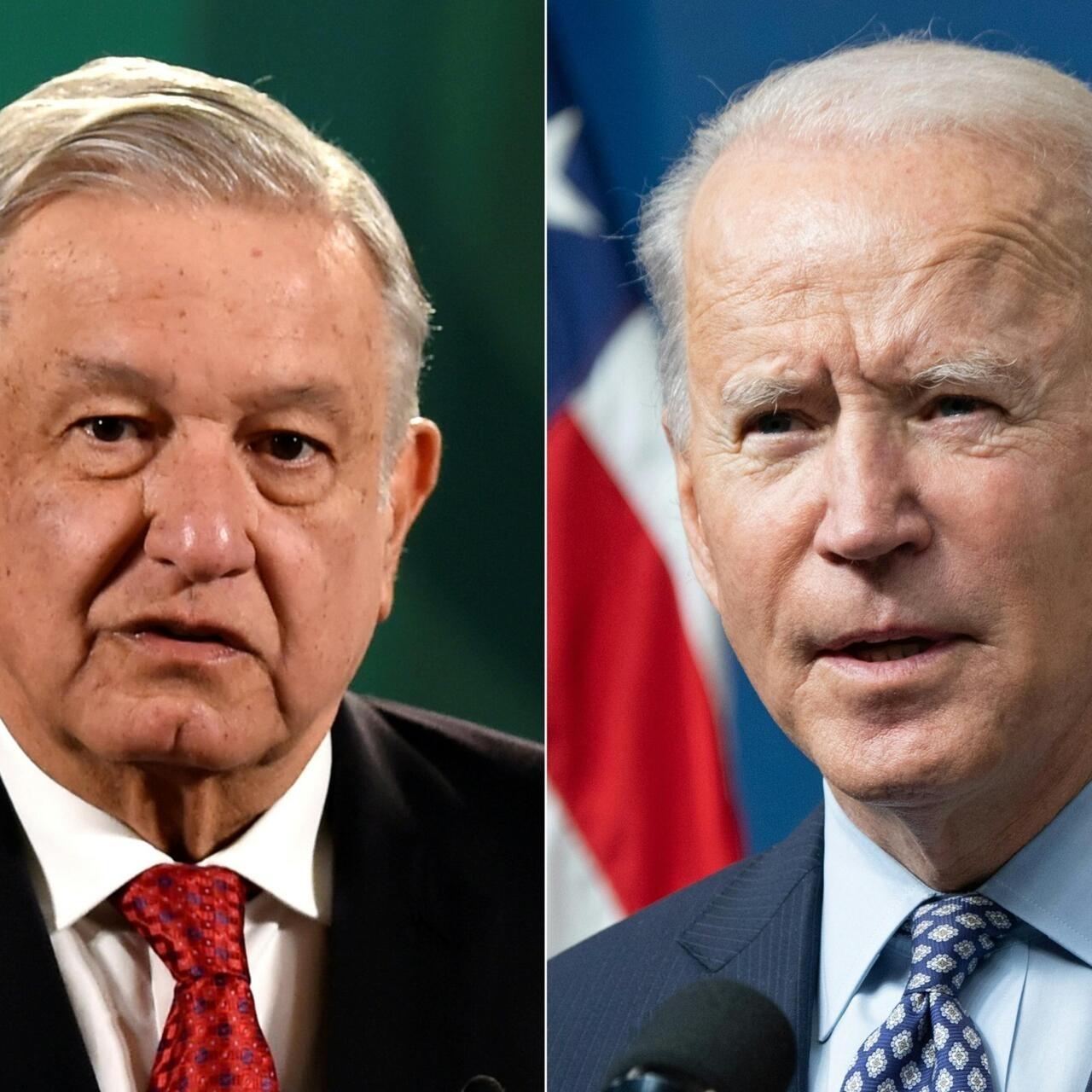 Biden sostendrá segunda bilateral virtual de su mandato el lunes con presidente de México - France 24
