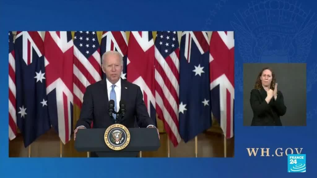 2021-09-17 08:31 US in damage control mode: Biden angers France, EU with new Australia, UK initiative