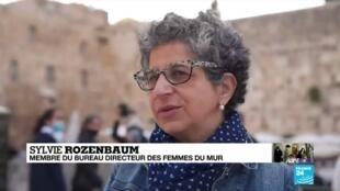 """2020-05-27 23:17 Pandémie de Covid-19 : Les """"femmes du mur"""" retourner prier à Jérusalem"""