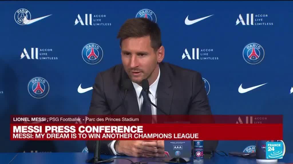 2021-08-11 11:08 REPLAY - Messi's PSG presentation