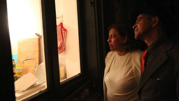 Mona Al Ghabr et son mari Ahmed Abed.