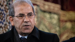 محمد موسوي ، رئيس  المجلس الفرنسي للديانة الإسلامية ، في 22 مارس 2019 ، في المسجد الكبير بباريس.