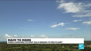 2020-07-23 10:13 China launches Mars probe as space race heats up