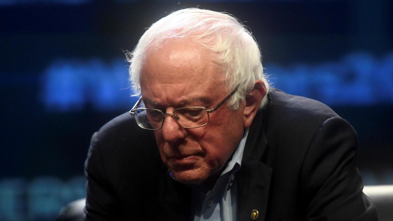 El candidato presidencial demócrata, el senador Bernie Sanders, durante la Cumbre Presidencial de Trabajadores en Filadelfia, Pensilvania, EE. UU., el 17 de septiembre de 2019.