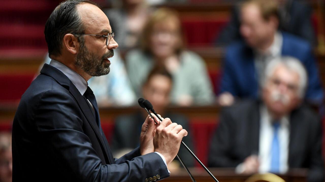 Le Premier ministre, Édouard Philippe, à l'Assemblée nationale.