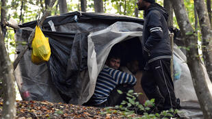 Dozens of migrants try every day to get into Croatia illegally, but are often turned back by police
