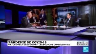 2020-03-31 17:10 Coronavirus en Hongrie : Les démocraties de l'UE à l'épreuve de la crise sanitaire